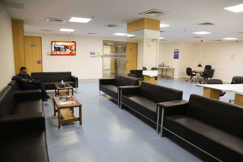 Waiting Area for ICU